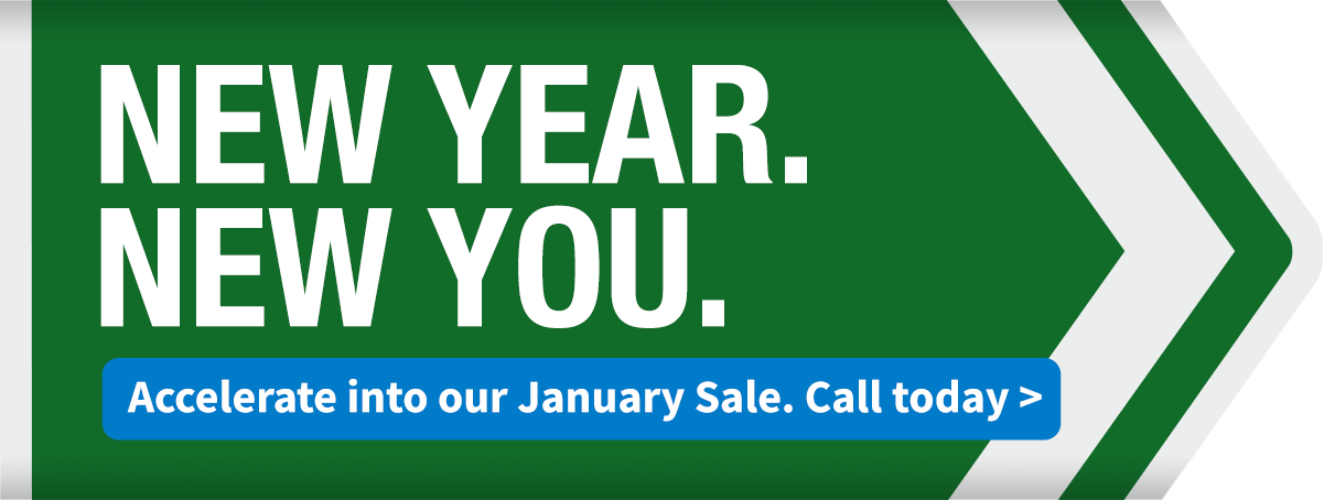 January Sale: New Year. New You