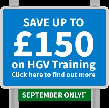 Save on HGV training